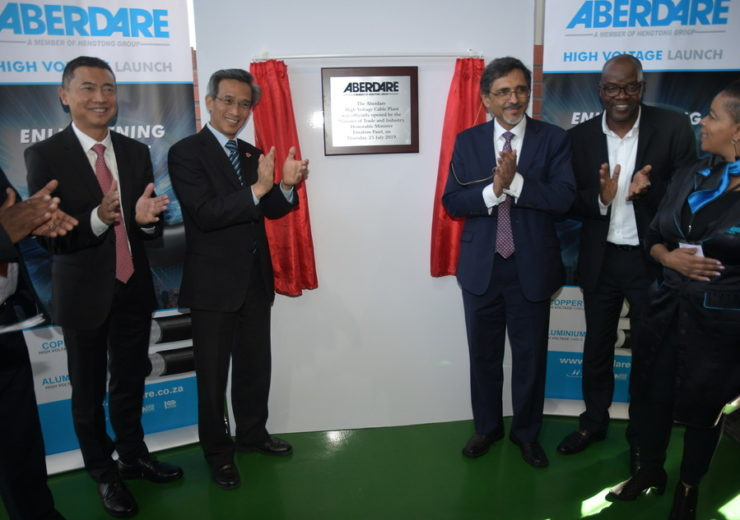 Hengtong Aberdare Cables launches new manufacturing plant in South Africa