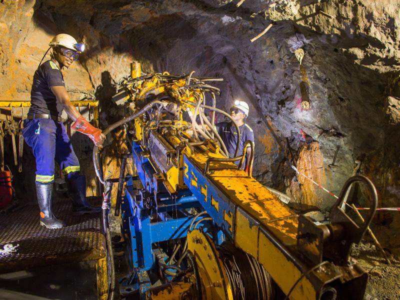 Kipushi Zinc-Copper Mine