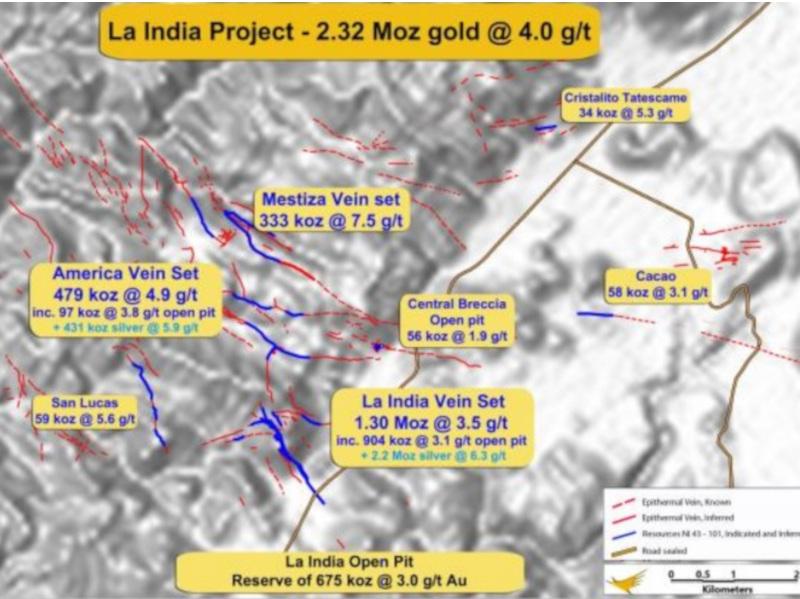2l-Image---La India Gold-Silver Project