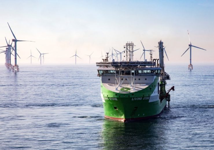Deme completes installing subsea export cables at Elia's MOG