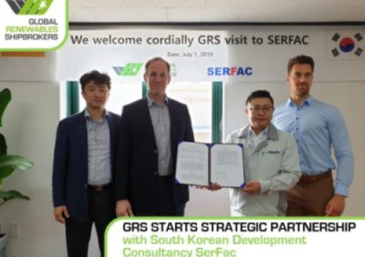 Global Renewables Shipbrokers starts strategic partnership with SerFac