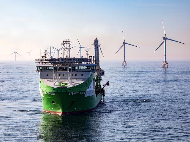 Elia Modular Offshore Grid Project, North Sea