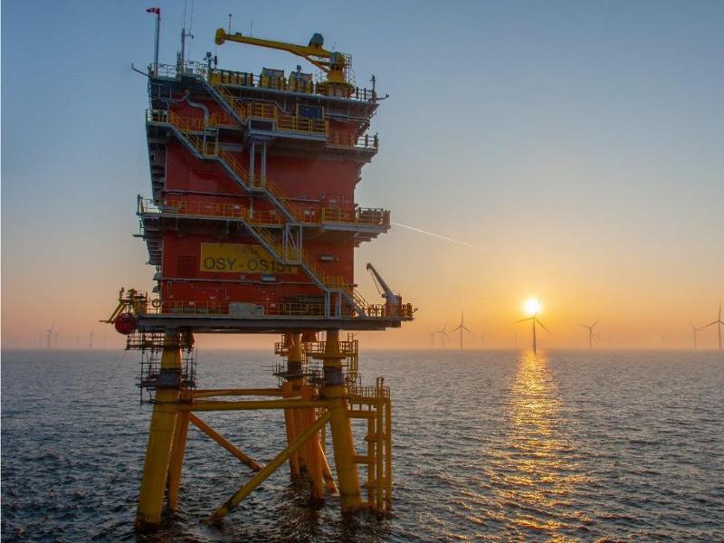 Image 3- Elia Modular Offshore Grid Project, Belgium North Sea