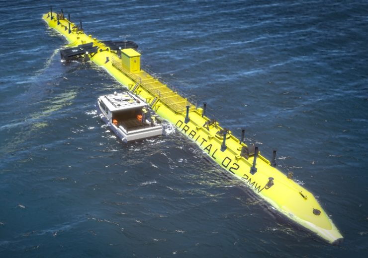 Orbital Marine Power selects TEXO Group for O2 tidal turbine project