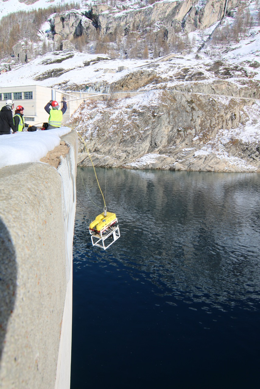 robotics dam safety