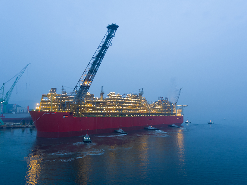 Flowserve to provide maintenance services for Prelude FLNG facility