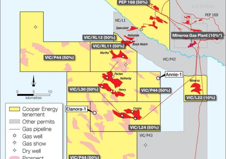 Cooper Energy begins drilling at Annie-1 well offshore Otway Basin