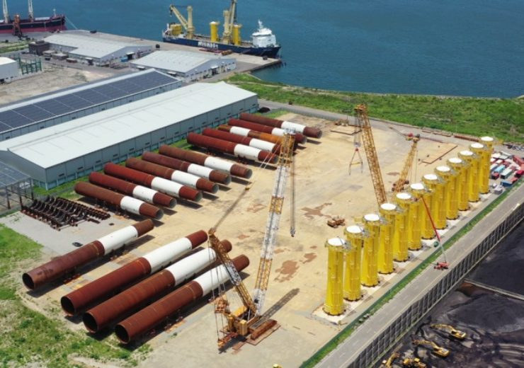 Foundations installed for Formosa 1 phase 2 wind project offshore Taiwan