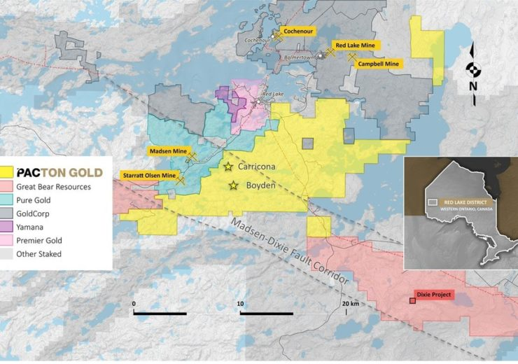 Pacton Gold Inc--Pacton Gold Selects First Priority Target Area