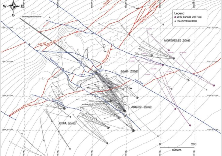 Alexco Resource reports initial results from the 2019 Bermingham drilling program