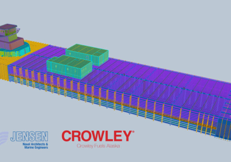 Gunderson Marine to build articulated tug barge for Crowley Maritime