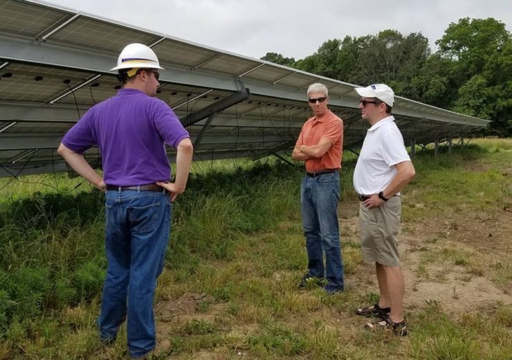 Baker University Students collaborate with Westar Energy and Baldwin City on solar project
