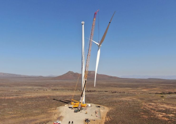 Mainstream installs first turbine at 110MW South African wind farm