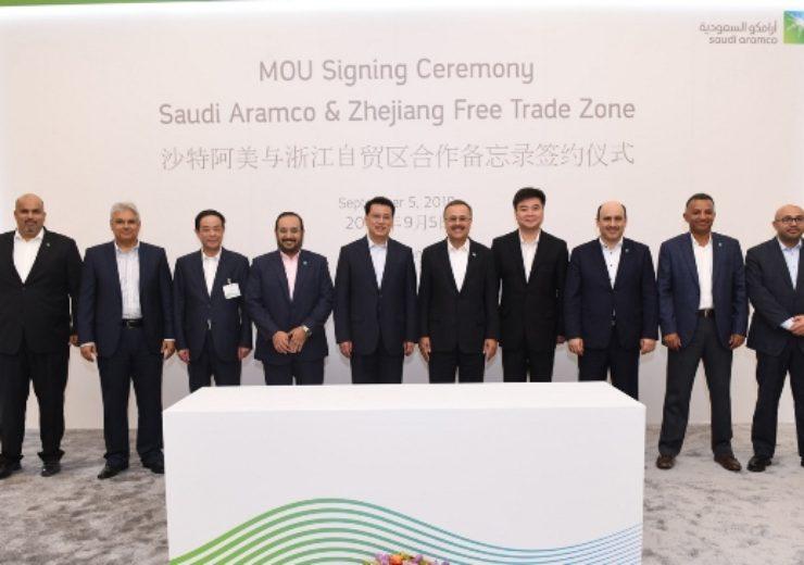 Saudi Aramco expands downstream investment in China Zhejiang Free Trade Zone