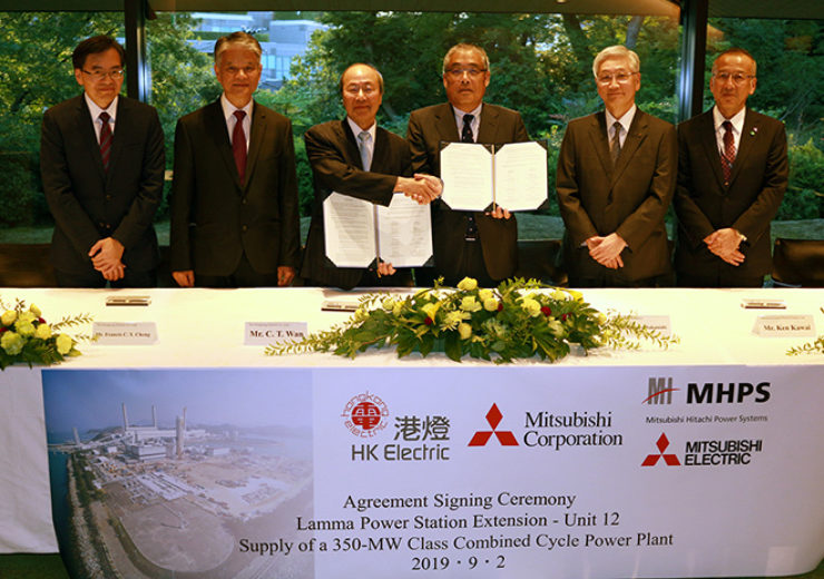 MHPS wins contract from Hongkong Electric for GTCC power generation equipment