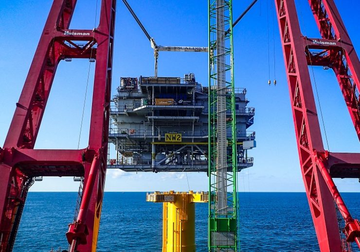 OHVS installed for 219MW Northwester 2 offshore wind farm in Belgium
