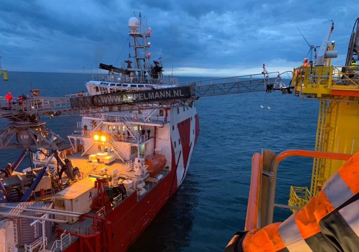 VOS Stone operating at Hohe See Offshore Wind Farm