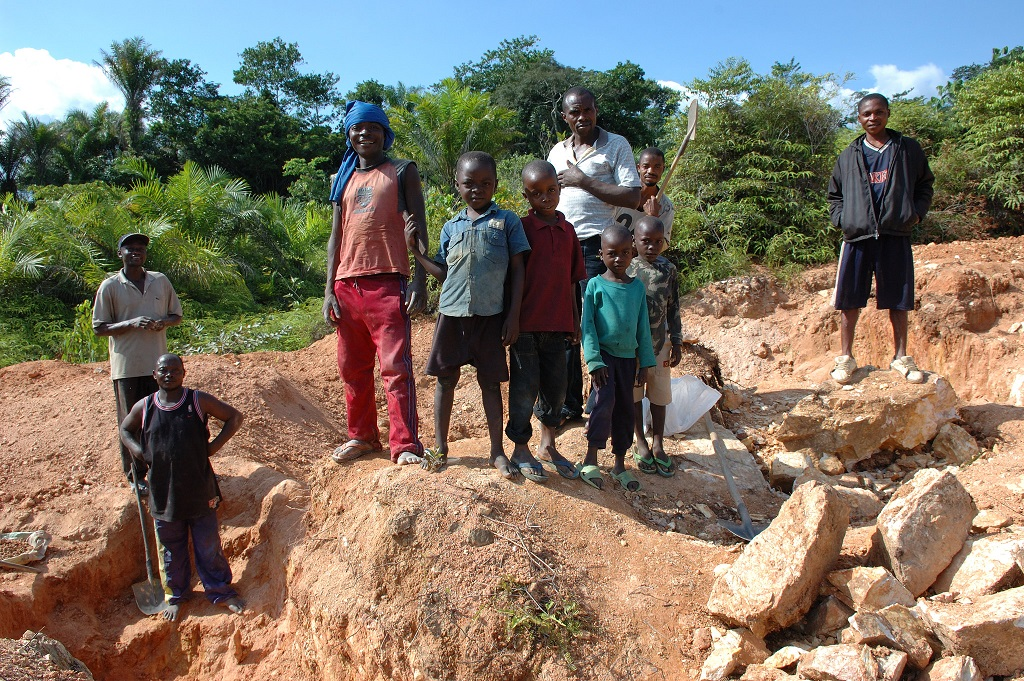 congo cobalt mining