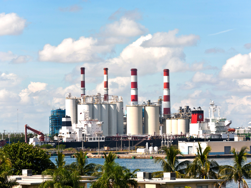 Dania Beach Energy Center, Broward County, Florida