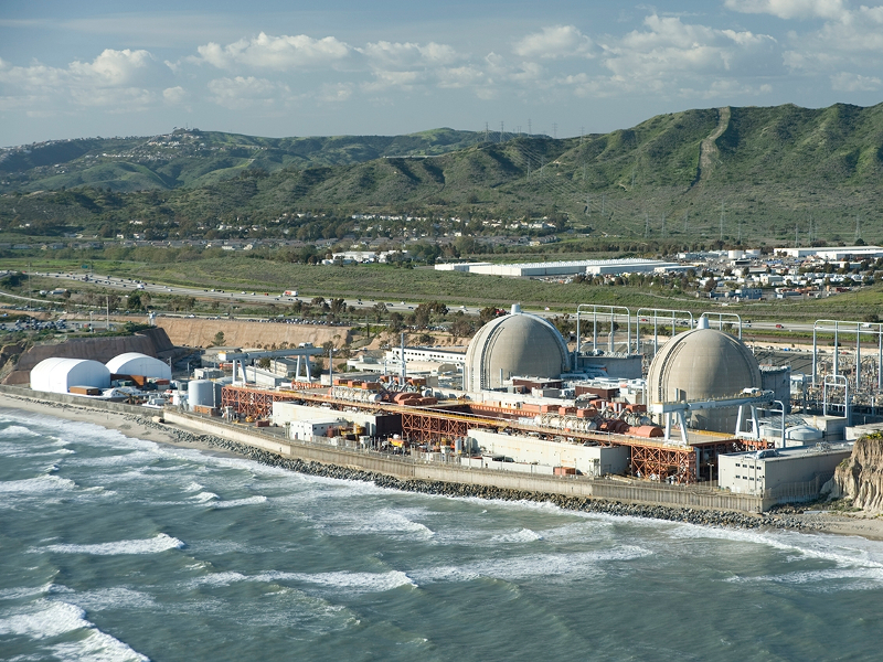 San Onofre Nuclear Power Plant Decommissioning