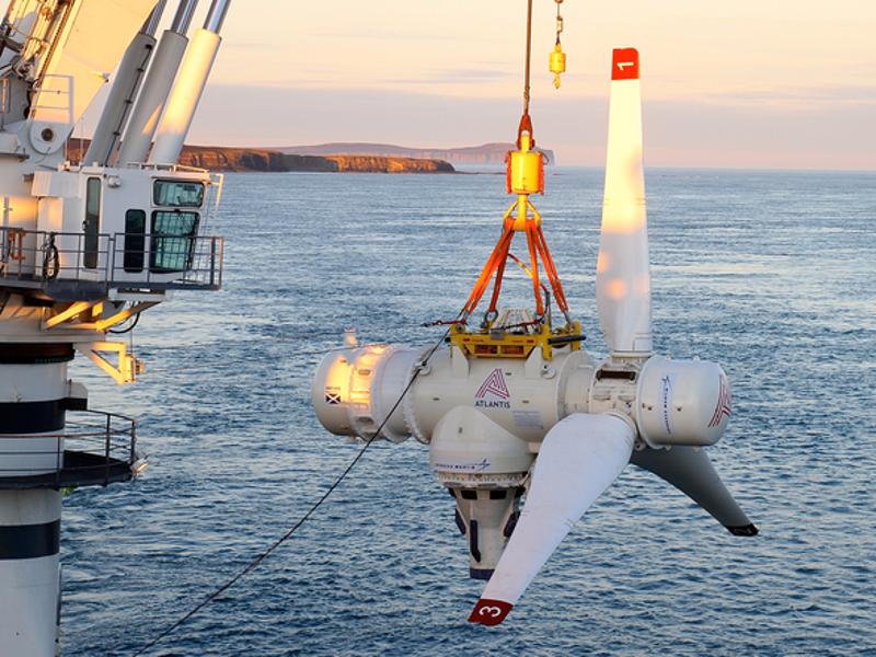 Image 2 - Meygen tidal power project, Pentland Firth, Scotland.