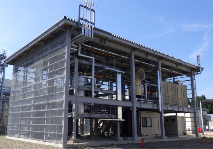 Inpex completes construction on methane synthesis test facility in Japan