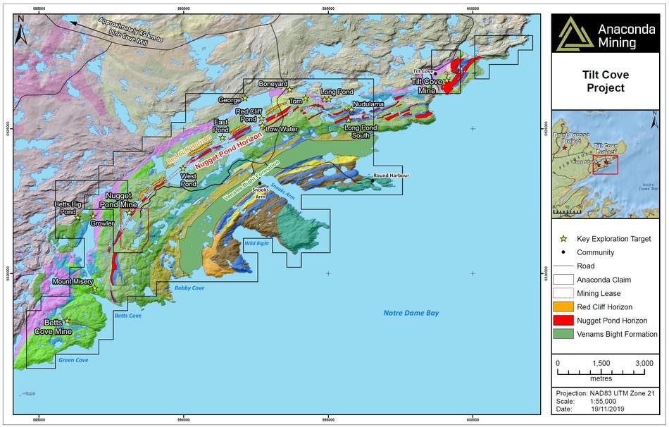 Anaconda Mining Inc--Anaconda Mining Discovers New Prospective A