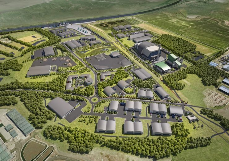 Artist's impression of the Protos site
