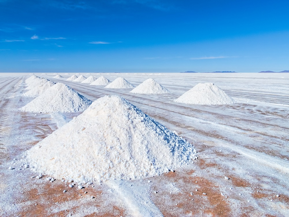 lithium producing countries