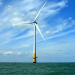 Off-shore wind turbine
