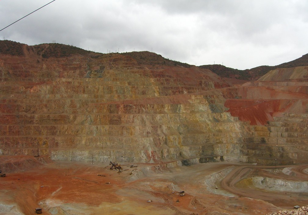 Copper mine