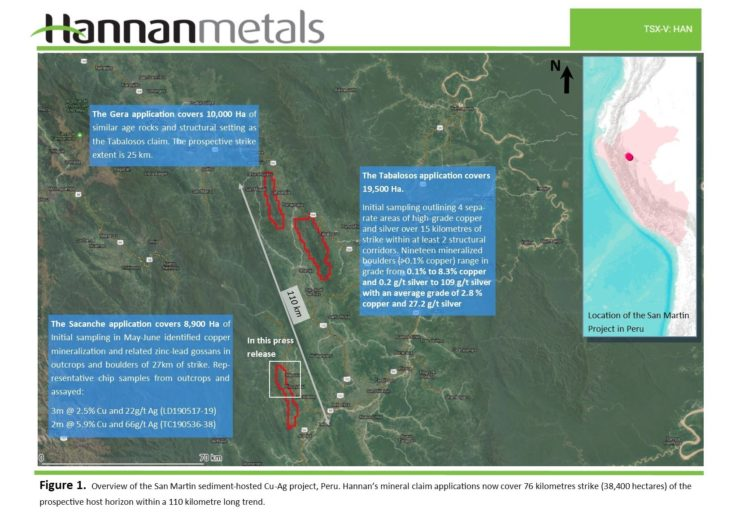 Hannan Metals Ltd--Hannan Metals- First Mining Concession Grante