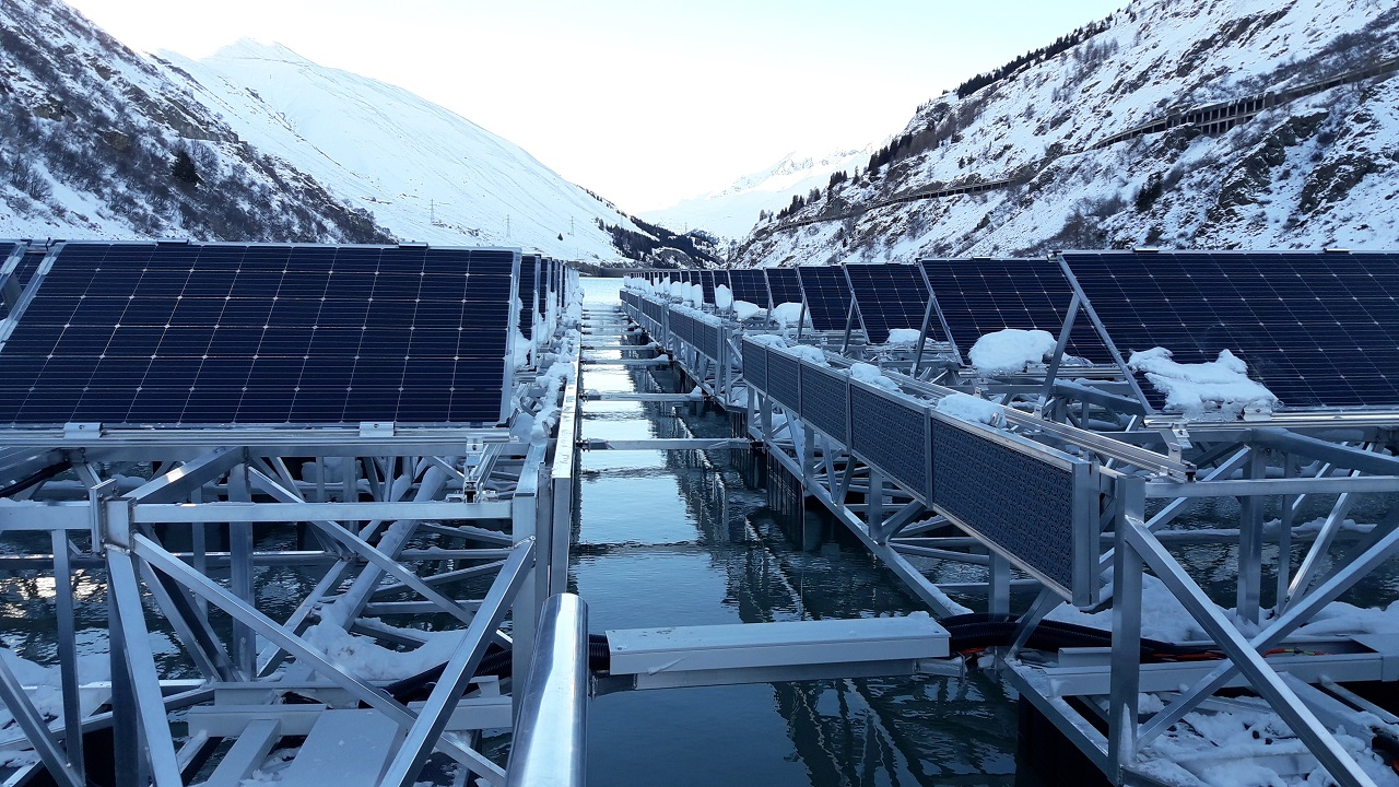 ABB to supply inverters for Romande Energie's floating PV plant in Switzerland