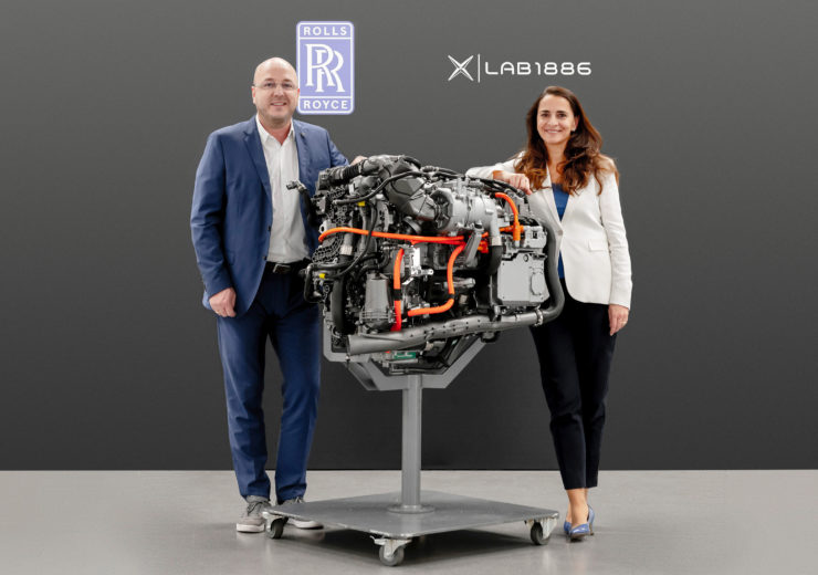 Rolls-Royce Lab 1886 Brennstoffzele Fuel Cell