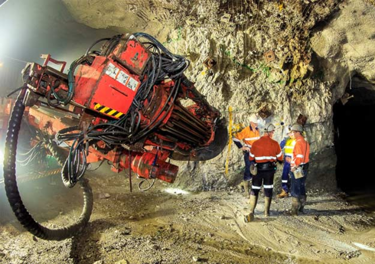 Centamin gold mining