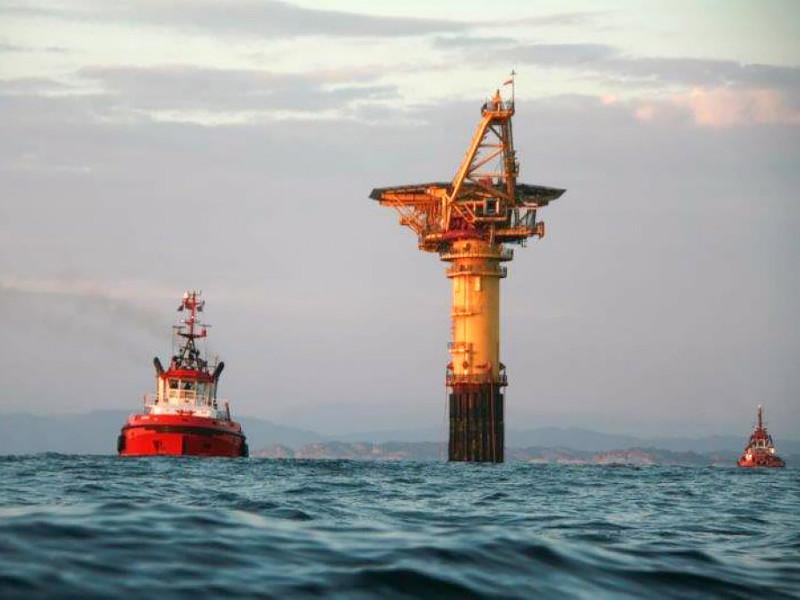 Image 1- Gullfaks oil field
