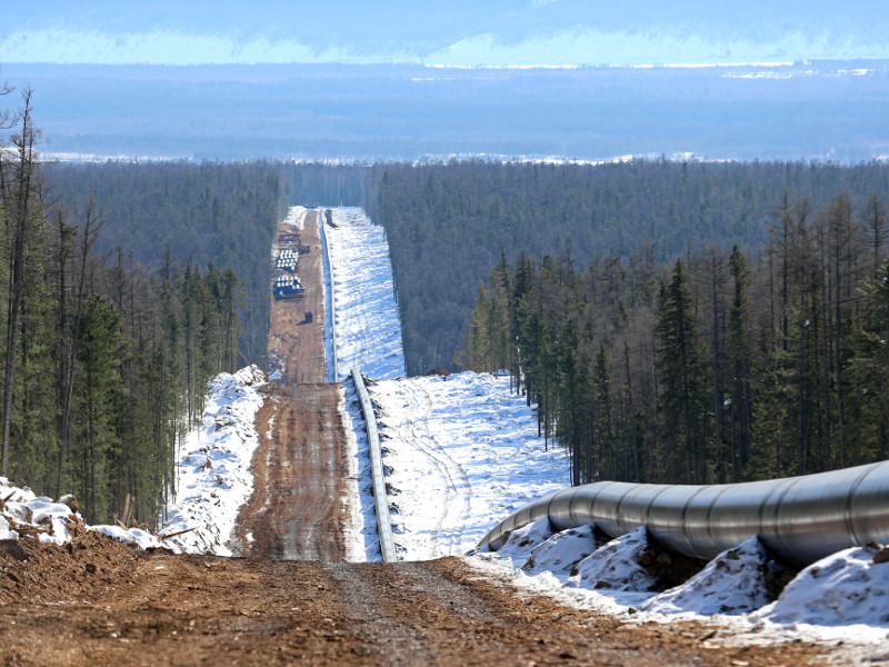 The Power of Siberia Pipeline, Russia-China