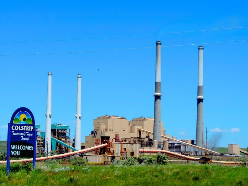Colstrip Power Plant, Montana