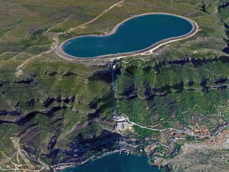 Cortes-La Muela Hydroelectric Power Complex