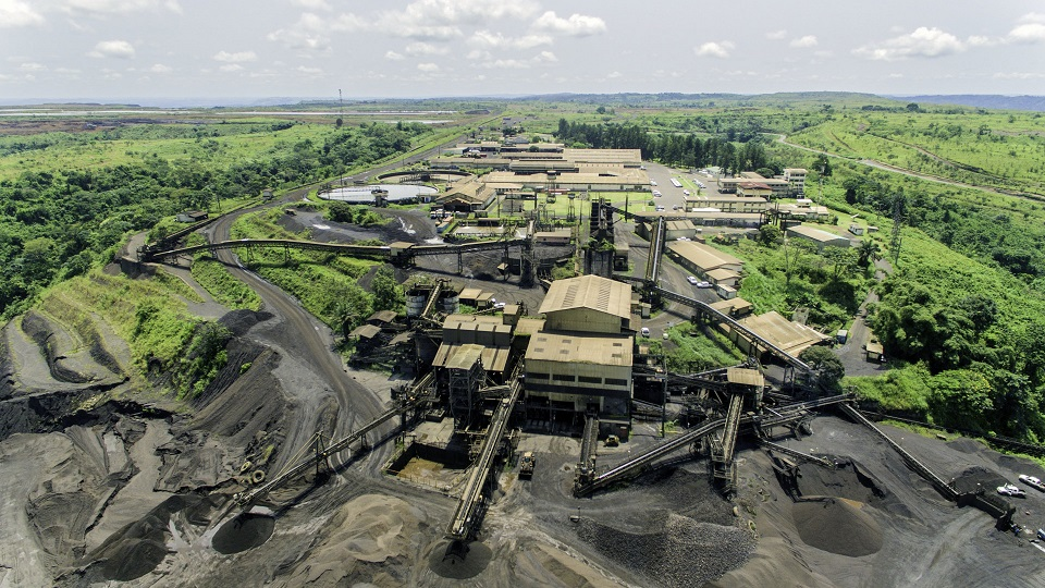 Comilog has been recovering manganese ore from the Moanda mine for nearly 60 years