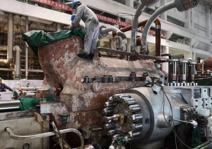 Turbine upgrade at Xuzhou 3