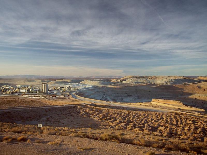 Borax Open-Pit Mine, Boron, California