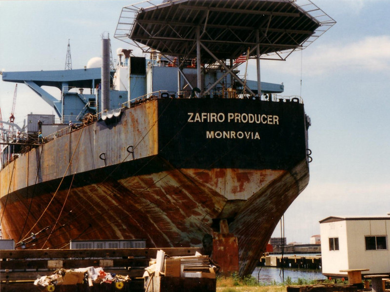 Zafiro Oil Field, Gulf of Guinea