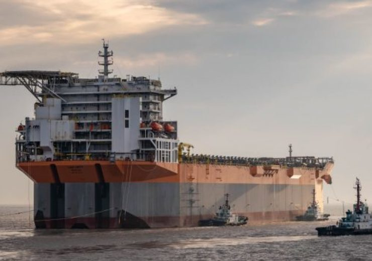 SBM's first completed Fast4Ward hull arrives in Singapore