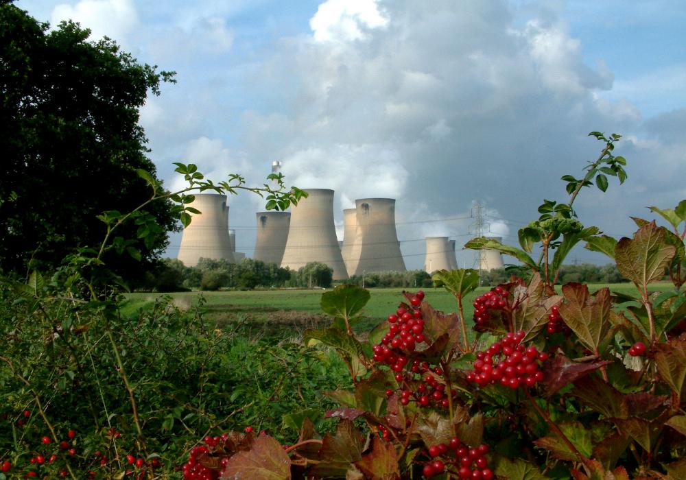 Drax gas power plant