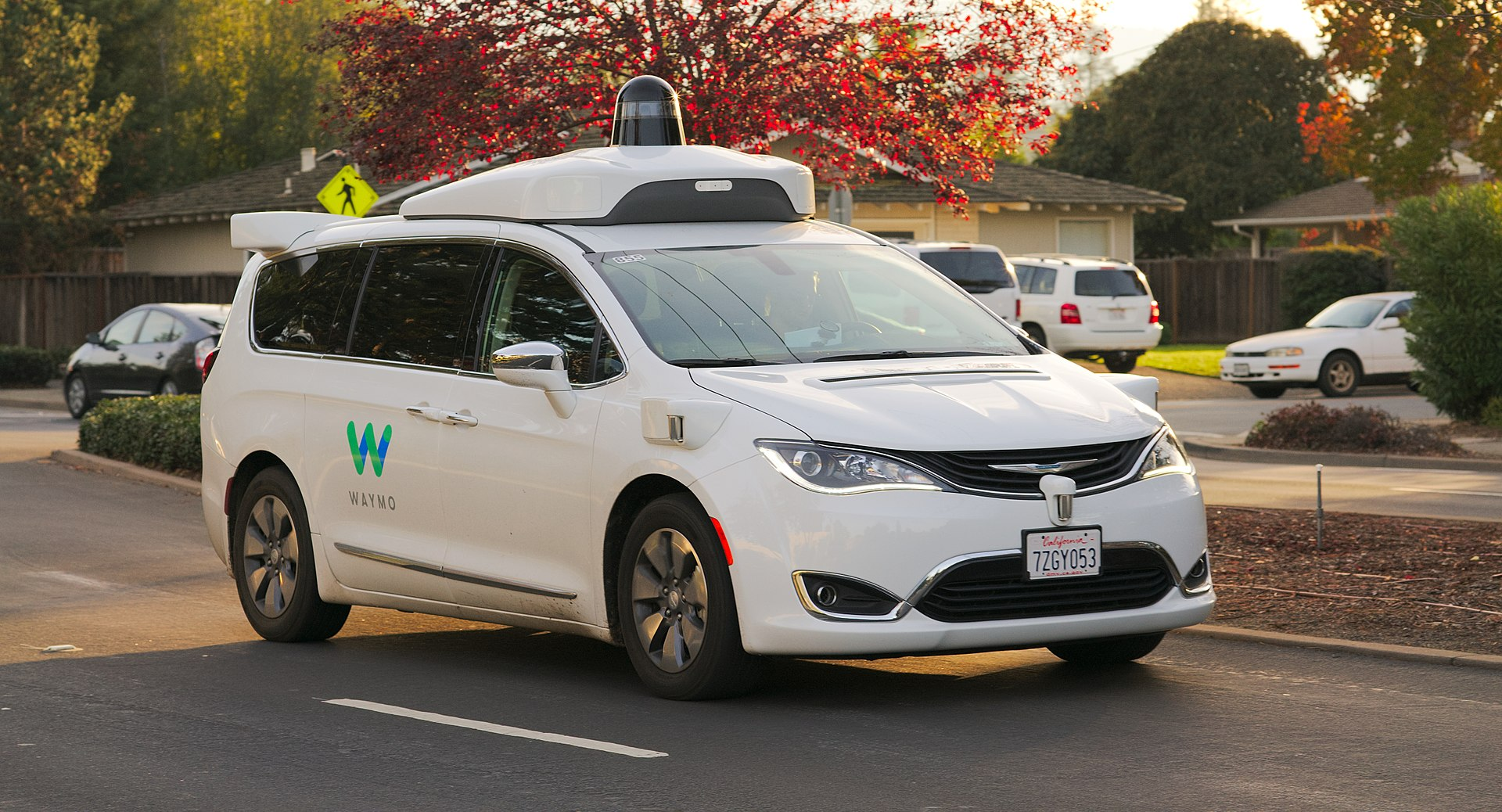 Autonomous car Waymo