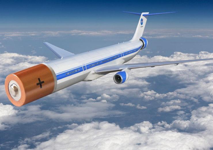 Electric plane battery