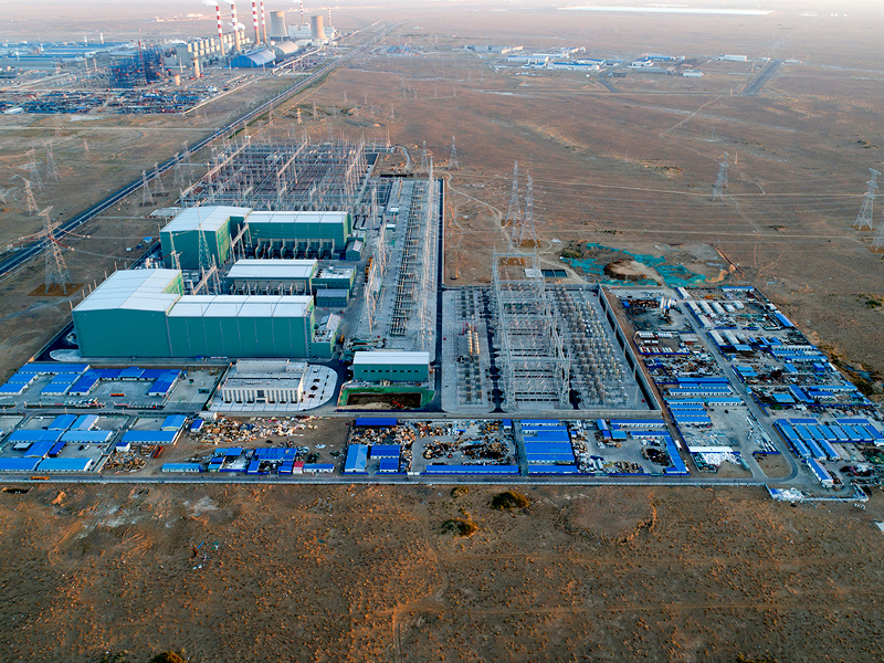 Image 1_ Changji-Guquan UHVDC Transmission Project