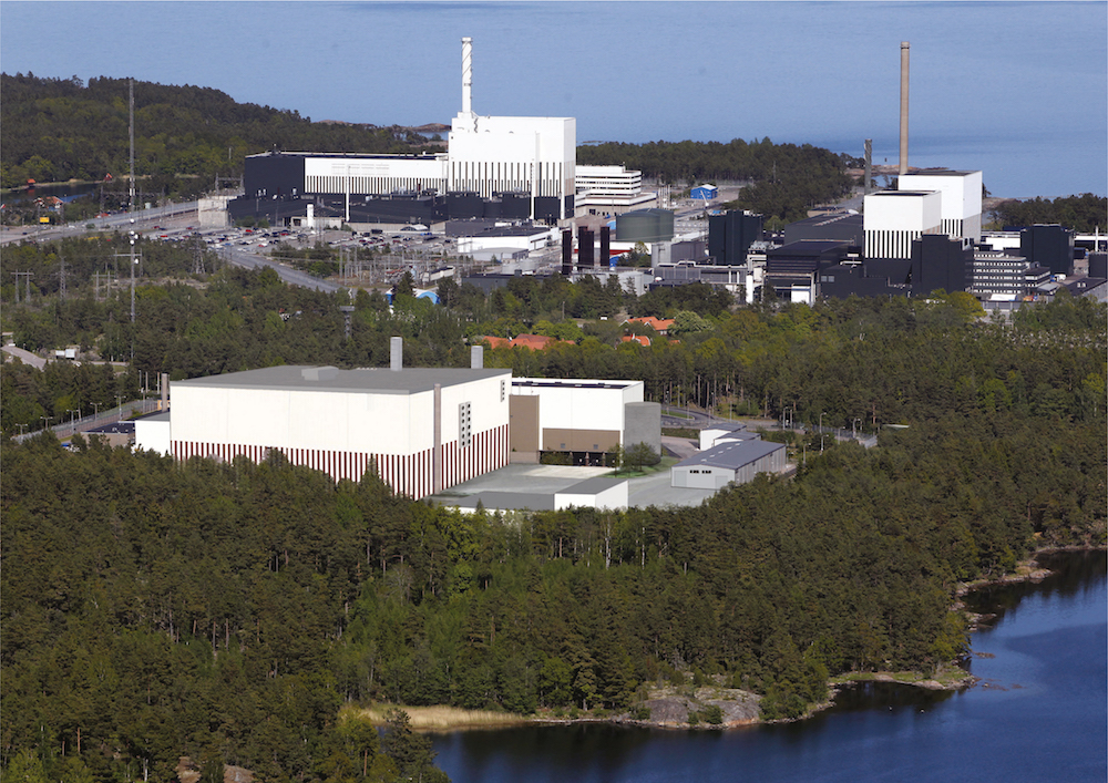 Oskarshamn nuclear plant is undergoing decommissioning in Sweden