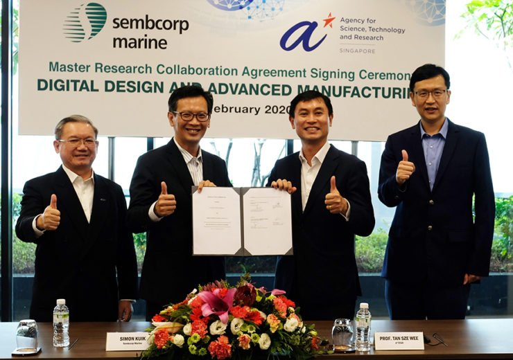Sembcorp Marine and Singapore's A*STAR to collaborate on clean energy solutions